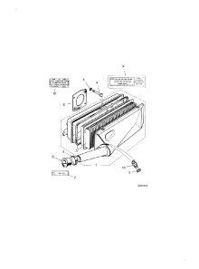 AIRCLEANER LH 5.3 LITRE (5.3 Litre)
