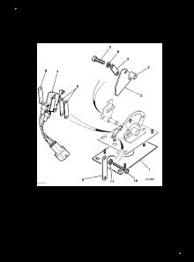 SPEED CONTROL CAM PLATE INHIBITOR