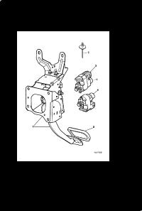 BRAKE PEDAL HOUSING AUTOMATIC (automatic)