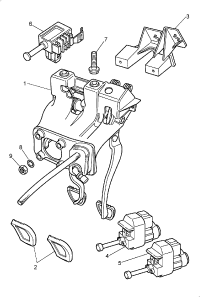 BRAKE CLUTCH PEDAL HOUSING MANUAL