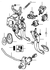 BRAKE CLUTCH PEDAL HOUSING MANUAL (manual)