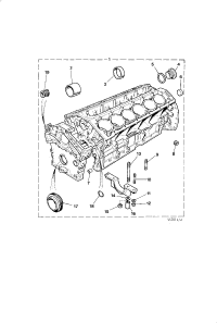 CYLINDER BLOCK ASSEMBLY 5.3 LITRE