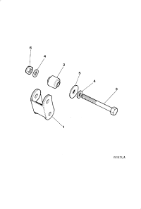 STEERING RACK AND PINION MOUNTINGS 3 6 LITRE