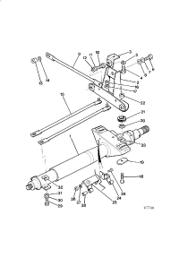 STEERING COLUMN AND MOUNTING UPPER