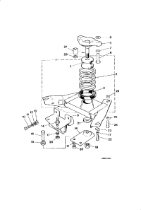 GEARBOX MOUNTING 5.3 LITRE