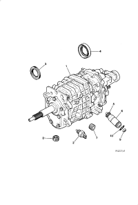 GEARBOX ASSEMBLY 3 6 LITRE MANUAL