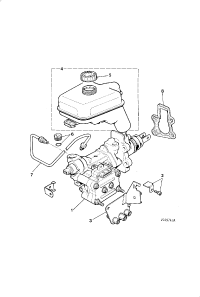ACTUATION ASSEMBLY AND RESERVOIR