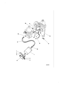 FUEL FILTER HOSES AUTOMATIC CHOKE FROM 1984MY