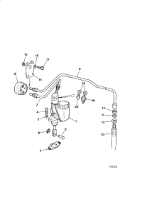 CLUTCH MASTER CYLINDER FROM