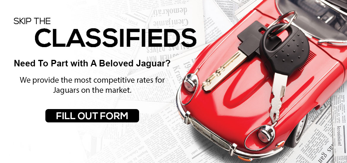 Sell us your Jaguar