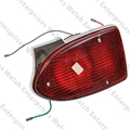 Jaguar Left Hand Rear Red Tail Lamp Assembly