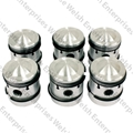Jaguar 4.2 Pistons  9:1 Compression .030 Oversize Set Of Six