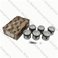 Jaguar 3.8 Pistons (Set Of Six) 9:1 Compression .030 Oversize