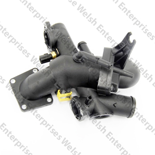 Jaguar Thermostat Housing With Thermostat