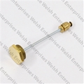 Jaguar Su Carburetor Damper - Brass