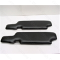 Jaguar Sunvisor Pair (Black)