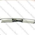Jaguar  Rear Center Bumper - Chrome