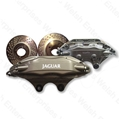 Jaguar Front Brake Caliper - Kit