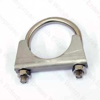 Jaguar Exhaust Clamp - 1 7/8 - Stainless Steel