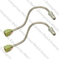 Jaguar Front Brake Line - Stainless - PAIR