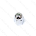 Jaguar Chrome Cam Cover / Breather Cover Nut