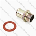 Jaguar Water Pump To Heater Hose Bypass Adapter