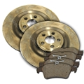 Copy of Jaguar Rear Brake Rotor and Pad Kit
