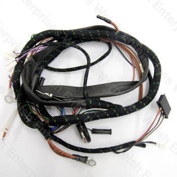 jaguar main wiring harness e type v12 71 74 jaguar. Black Bedroom Furniture Sets. Home Design Ideas
