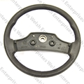 Jaguar Steering Wheel - Black- NOS