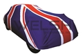 Union Jack Indoor Car Cover
