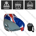 Jaguar Union Jack Outdoor Car Cover - Medium