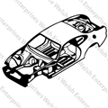 Jaguar Body Shell - Coupe (01 & up)