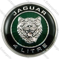 Jaguar Boot Emblem Badge, Round