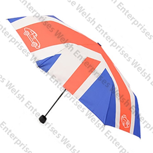 Jaguar Union Jack Umbrella