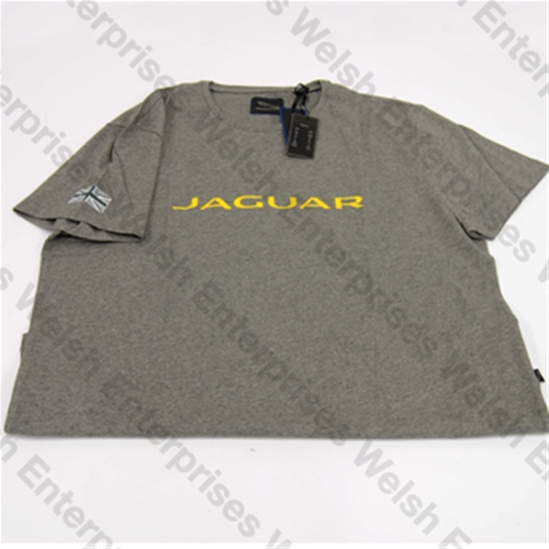 8df52156 Jaguar Tee Shirt L Jaguar Grey Jaguar Parts and Accessories from Welsh  Enterprises