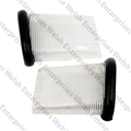 Jaguar Interior Pillar Lens - Pair
