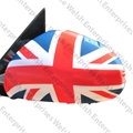 Jaguar Union Jack Side View Mirror Cover - PAIR