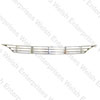 Rear Bonnet Grille - E-Type (61-67)