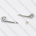E-Type Door Handle Pair