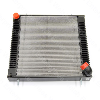 Jaguar Alloy Aluminium Radiator -Black