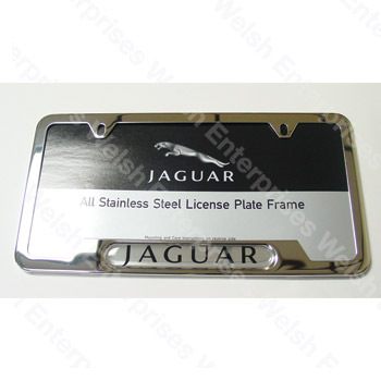 Jaguar License Plate Frame Jaguar Parts and Accessories from Welsh ...