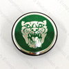 Jaguar Wheel Motif - Racing Green with Silver Catface