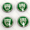 Jaguar Wheel Badge Set of 4 - Green