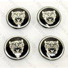 Jaguar Wheel Badge Set of 4 - Black
