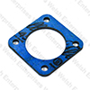 "Jaguar Su Hd8 2"" Carburetor Insulator Block - Blue"
