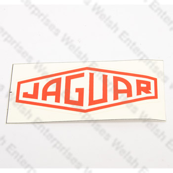 Jaguar Retro Decal