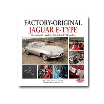 Jaguar Factory-Original Jaguar E-Type Book - DISCONTINUED