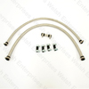 Jaguar Fuel Line Kit - Braided Stainless