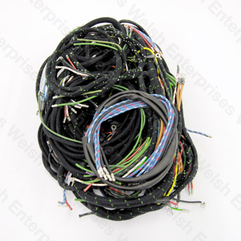 jaguar complete wiring harness xk140 jaguar parts and accessories Trailer Wiring Harness Diagram jaguar complete wiring harness xk140 jaguar parts and accessories from welsh enterprises