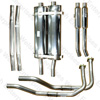 Jaguar Bell Big Bore Exhaust Kit - Series I (3.8 / 4.2)
